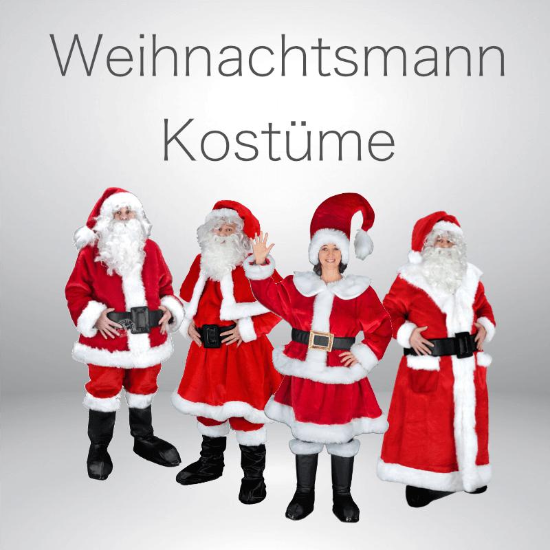 Weihnachtsmann Promotion Kostüme Lauffiguren günstig kaufen